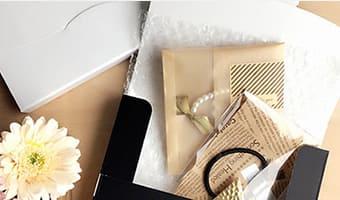 アクセサリーや小物の梱包資材